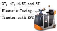 3T, 4T, 4.5T and 5T Electric Towing Tractor with EPS